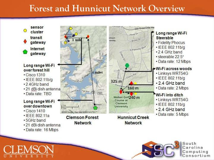 Forest and Hunnicut Network Overview