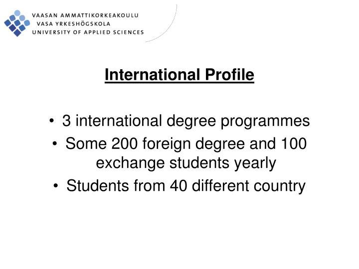 International Profile