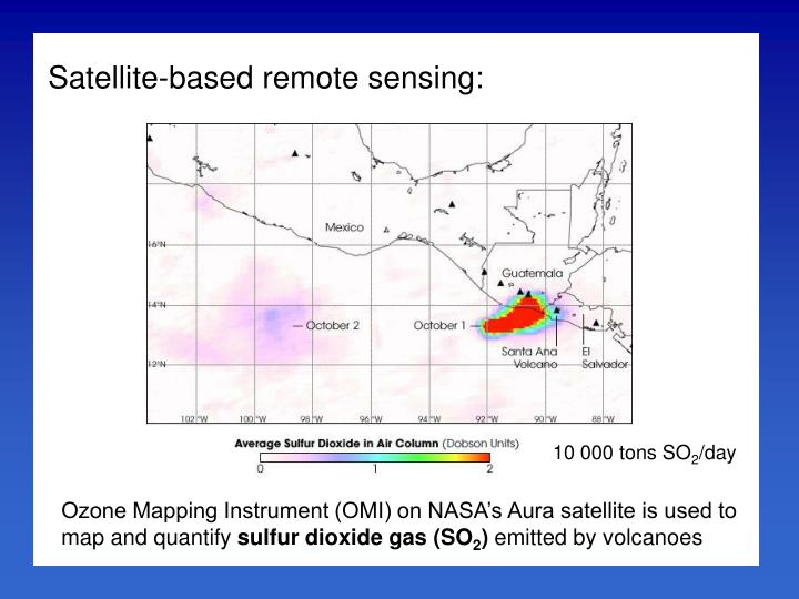 Satellite-based remote sensing: