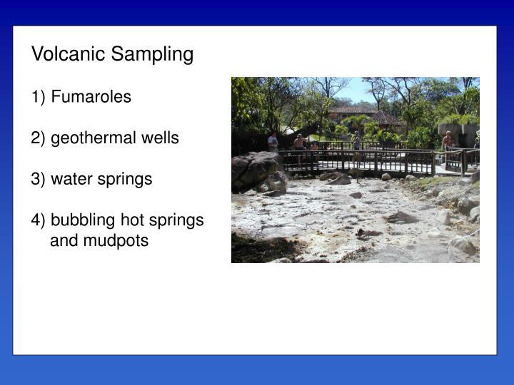 Volcanic Sampling