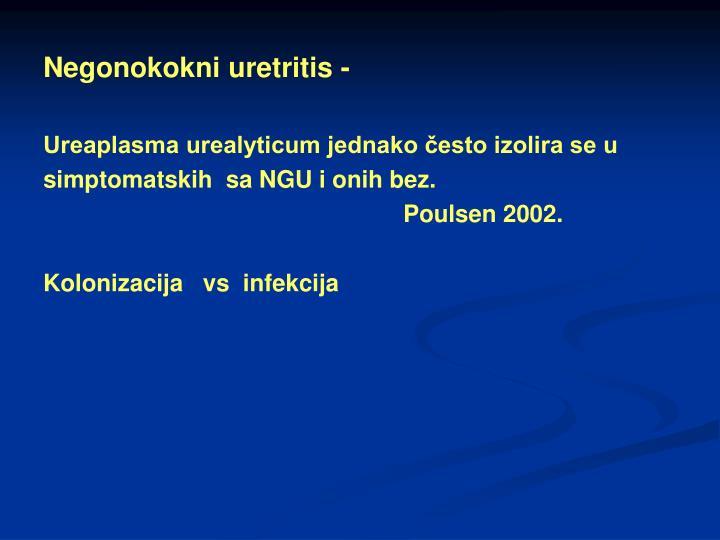 Negonokokni uretritis -