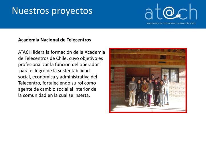 Nuestros proyectos
