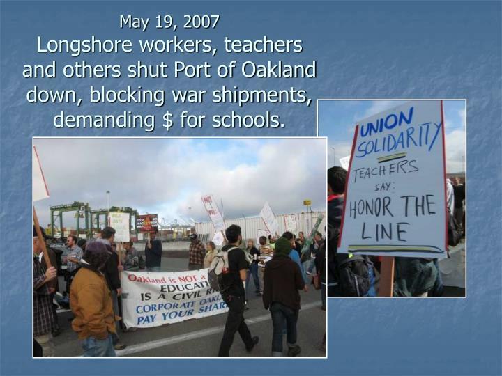 May 19, 2007