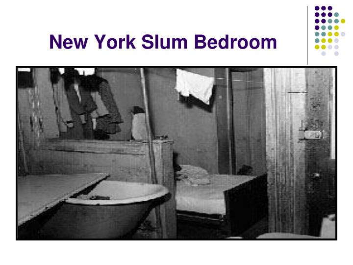 New York Slum Bedroom