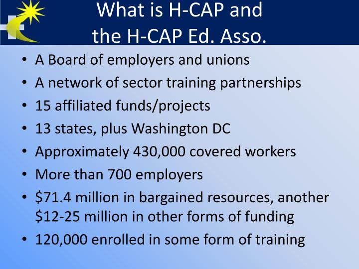 What is H-CAP and