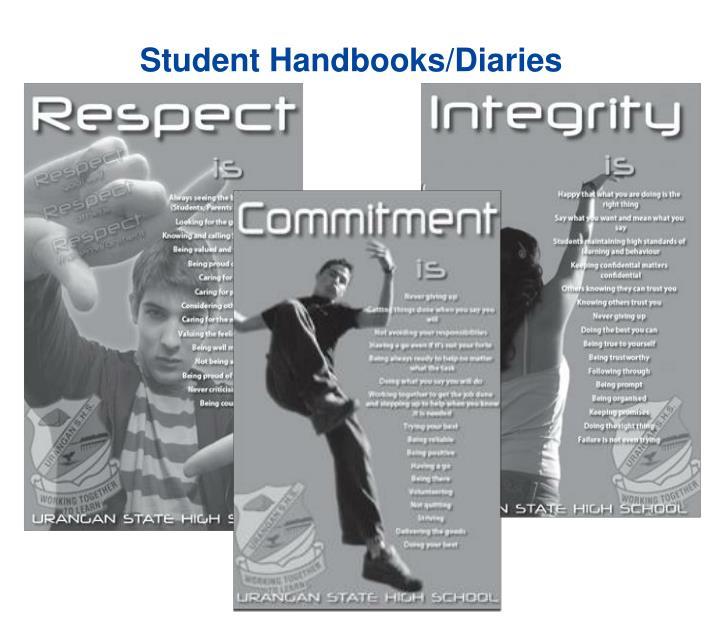 Student Handbooks/Diaries