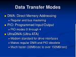 data transfer modes