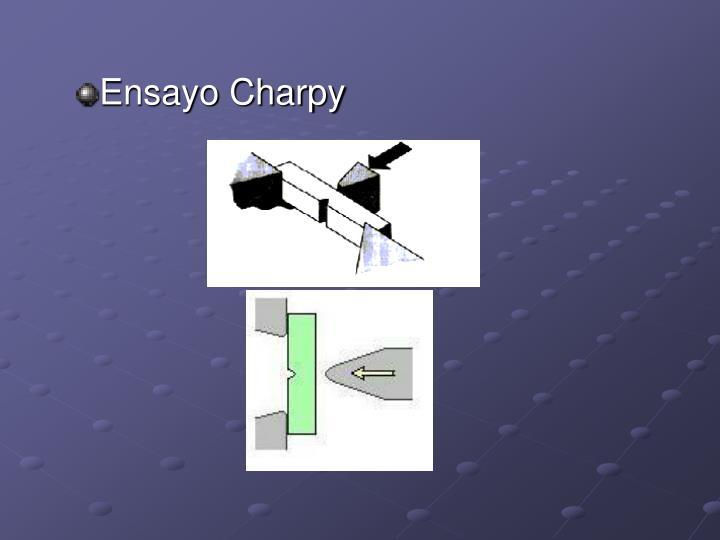 Ensayo Charpy
