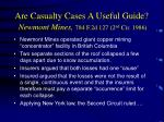 are casualty cases a useful guide newmont mines 784 f 2d 127 2 nd cir 1986