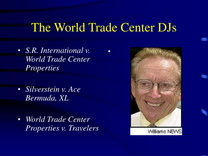 S.R. International v. World Trade Center Properties