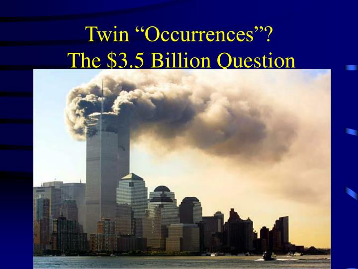 "Twin ""Occurrences""?"