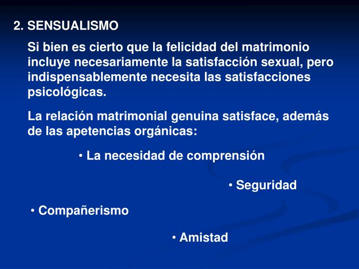 2. SENSUALISMO