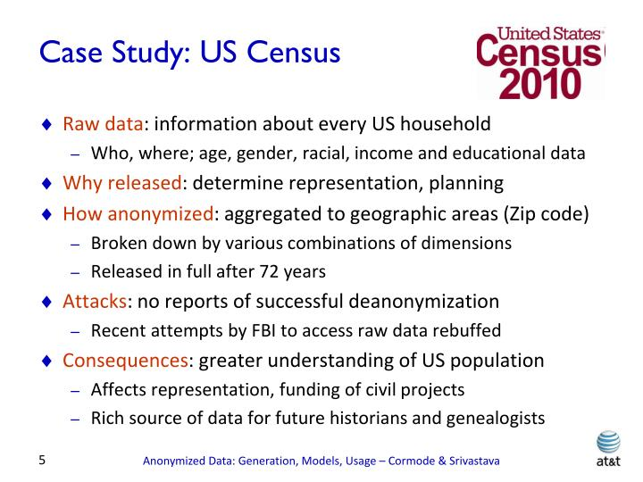 Case Study: US Census