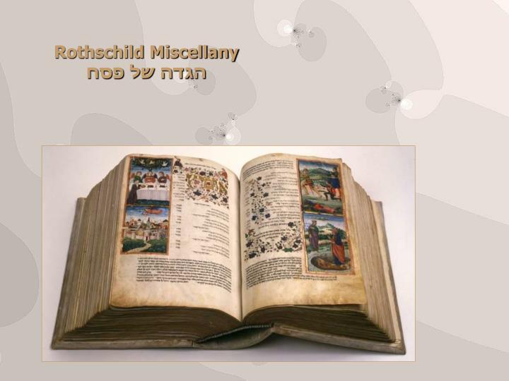 Rothschild Miscellany