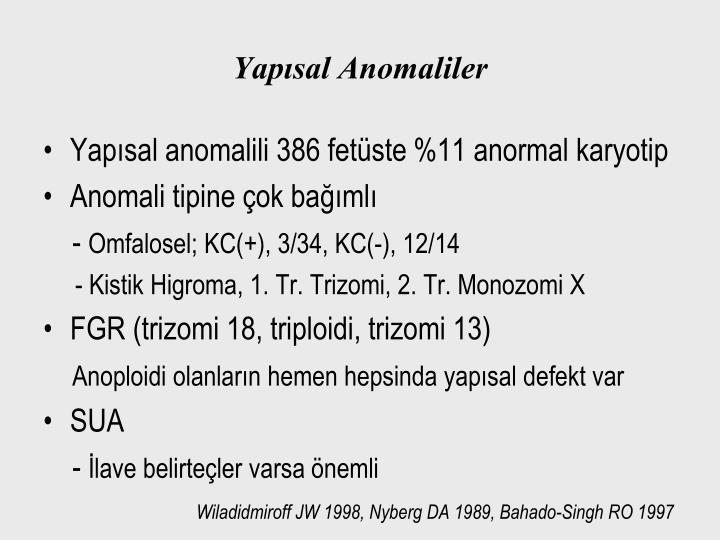 Yapısal Anomaliler