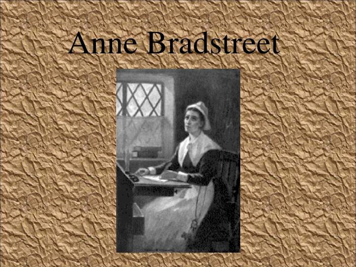 anne brandstreet and female identity essay