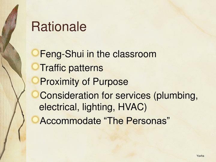 Rationale