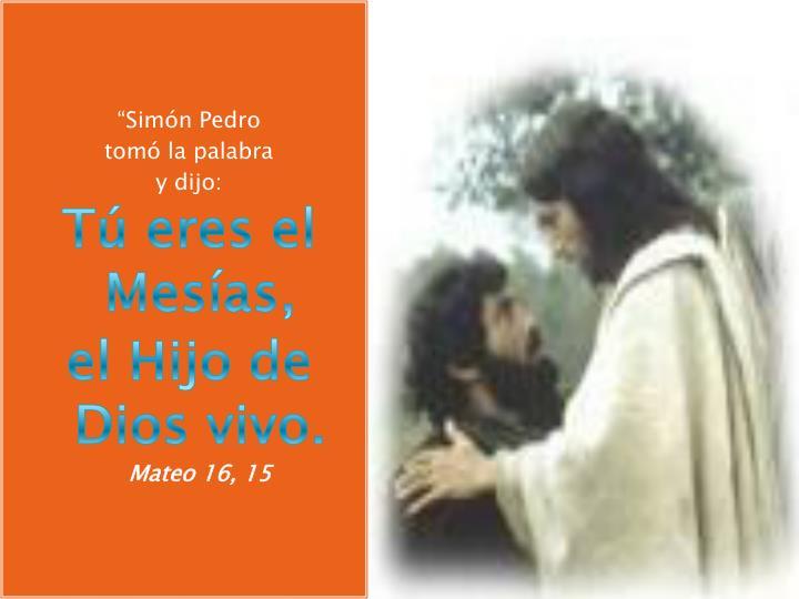 """Simón Pedro"