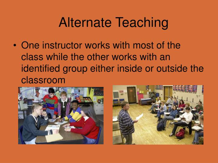 Alternate Teaching