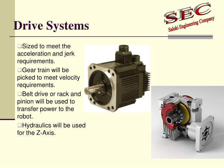 Drive Systems