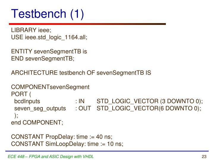 Testbench (1)