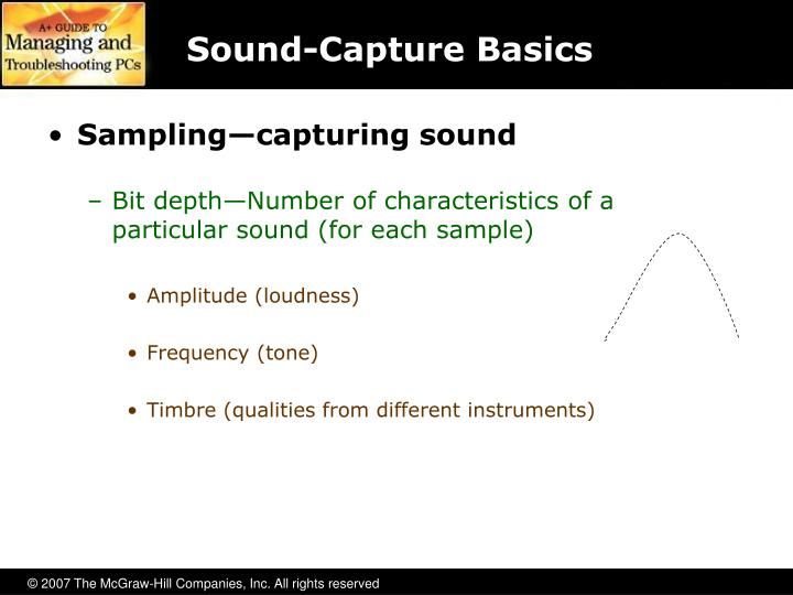 Sound-Capture Basics