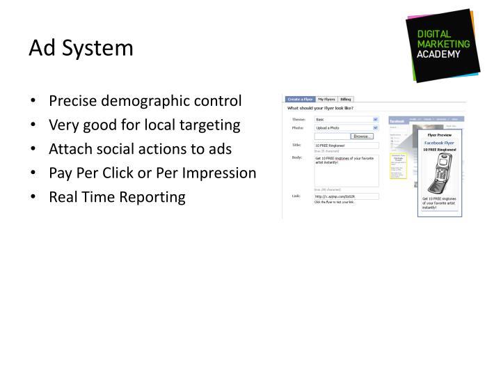 Ad System