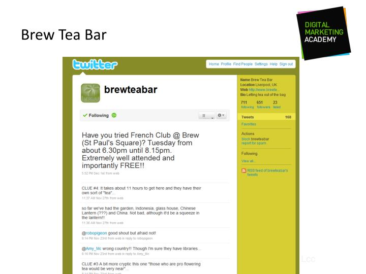 Brew Tea Bar