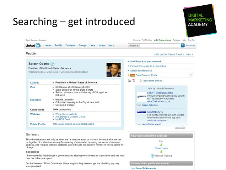 Searching – get introduced