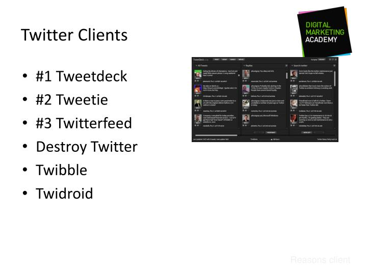 Twitter Clients