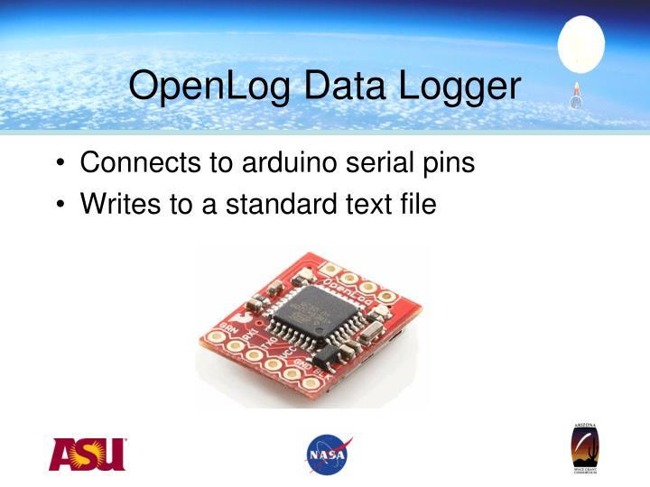 OpenLog Data Logger
