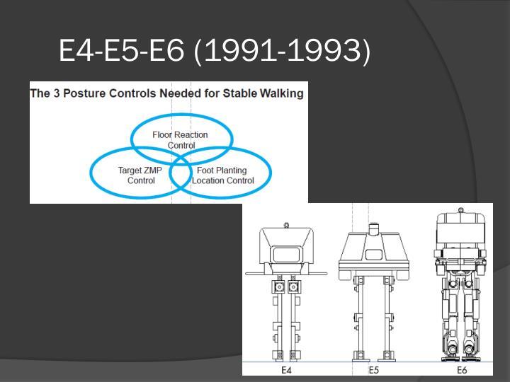 E4-E5-E6 (1991-1993)