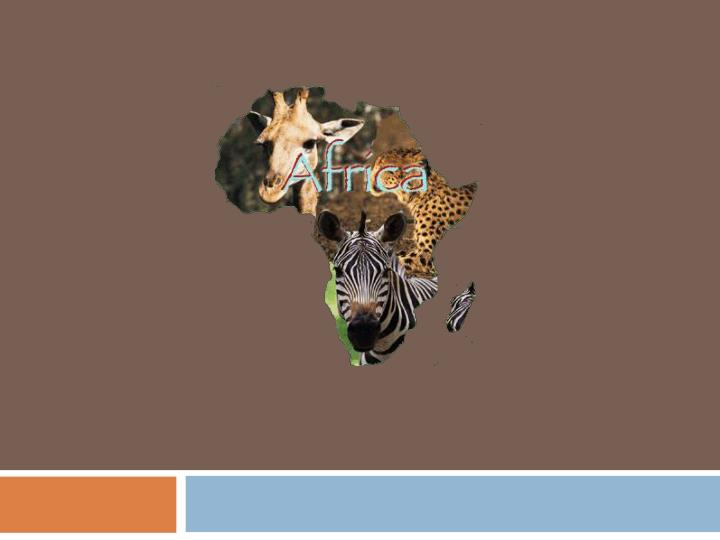 Africa s physical geography