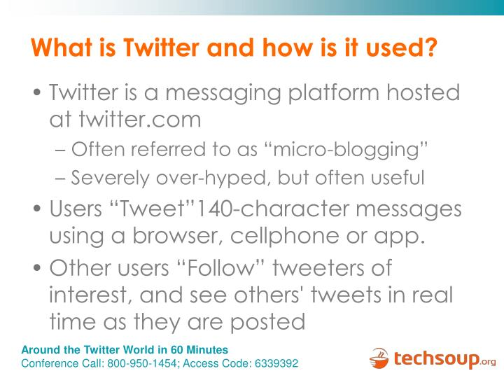 What is Twitter and how is it used?