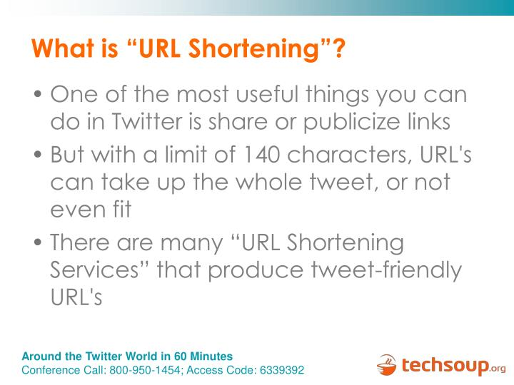 "What is ""URL Shortening""?"