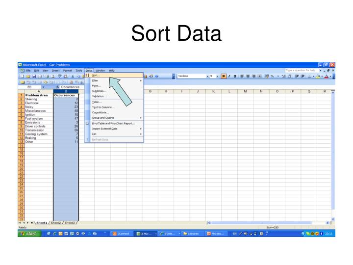 Sort Data