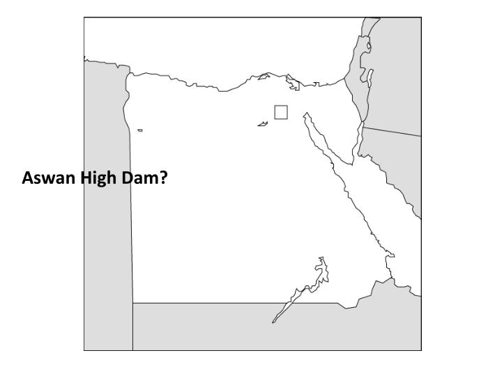 Aswan High Dam?