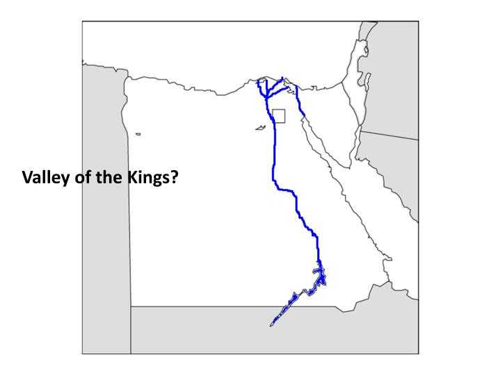 Valley of the Kings?