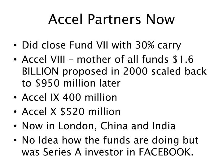 Accel Partners Now