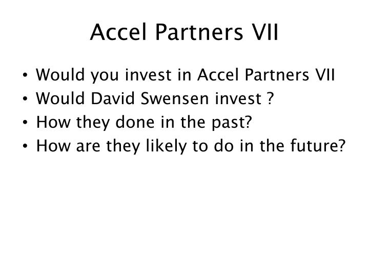 Accel Partners VII