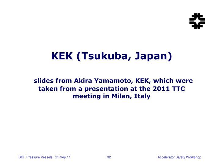 KEK (Tsukuba, Japan)