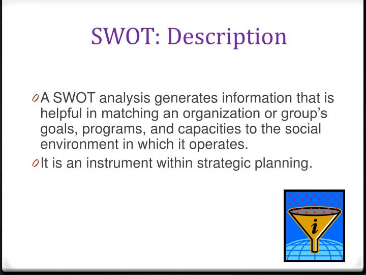 SWOT: Description