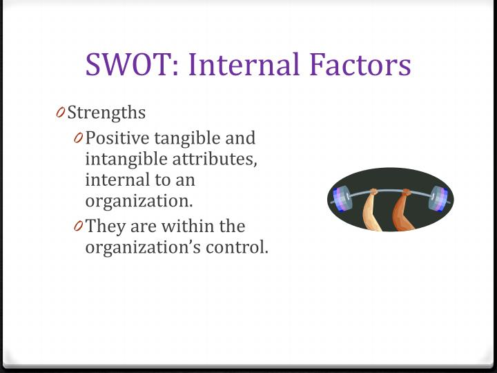 SWOT: Internal Factors