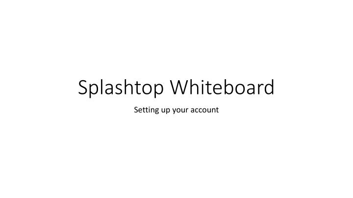 Splashtop Whiteboard
