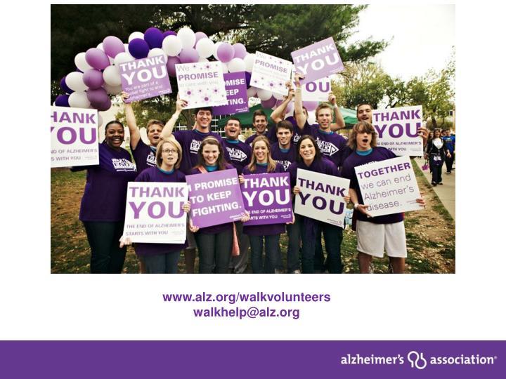 www.alz.org/walkvolunteers