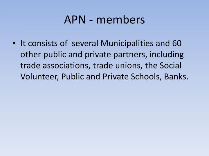 APN - members