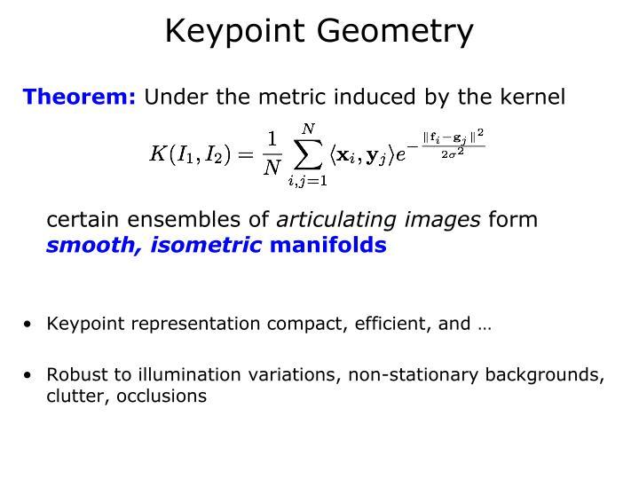 Keypoint Geometry