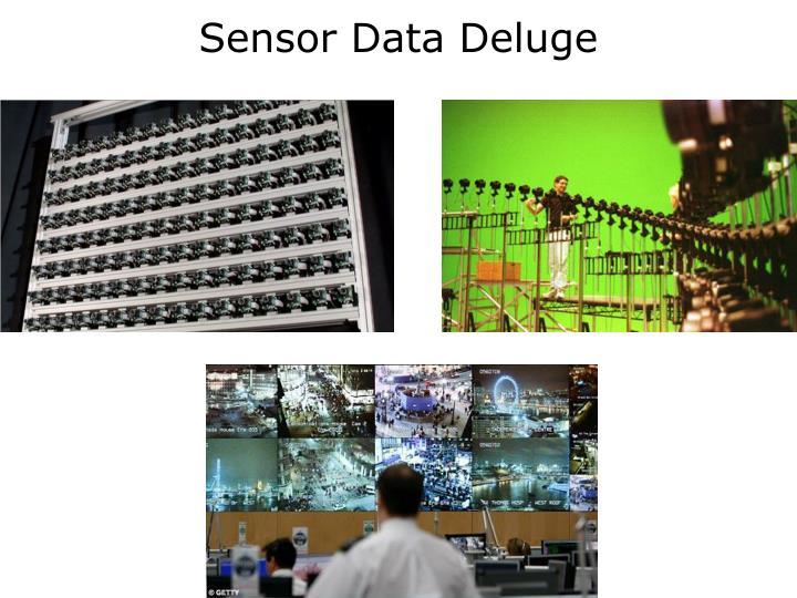 Sensor Data Deluge