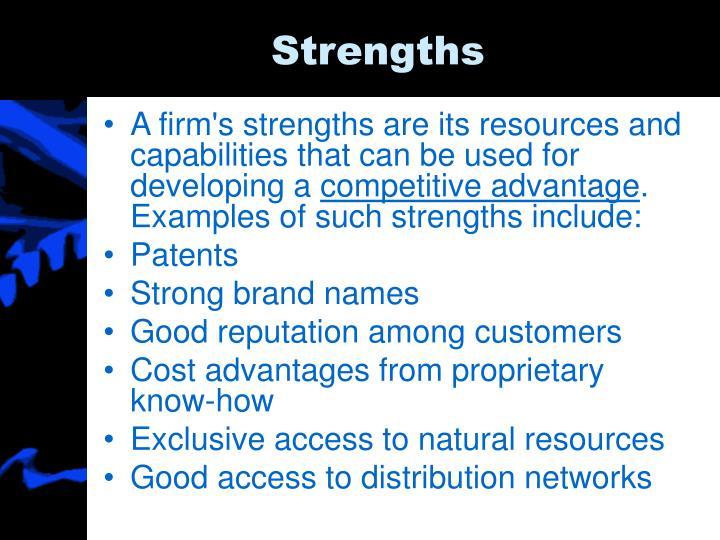 Strengths