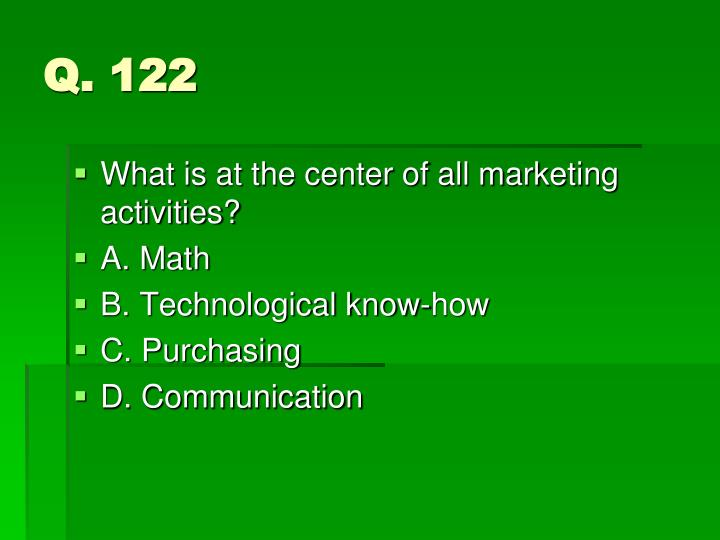 Q. 122